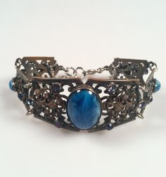ESTATE Jewelry 1920s Vintage Filigree by thepopularjewelry on Etsy, $79.00