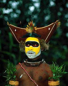 Huli tribal youth | Papua New Guinea