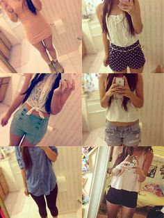 Pretty sure all these outfits are cute..