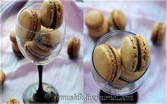 Шоколадныe macarons