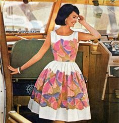 My mother had a dress just like this. 1963