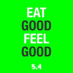This is what 5.4 is all about! We want you to feel good and you won't if you're starving yourself. Try our meals and you're one step closer to the body of your dreams!