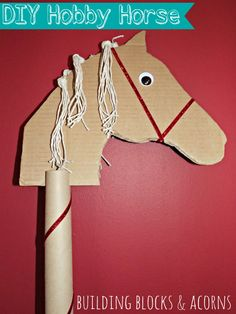 I love using recycled materials to make 'Darth' a DIY toy. This DIY Hobby horse is no exception and was made with completely free materials! Your little one will have hours of fun with this hobby h...
