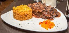 Tradición y Buen Sabor @ Lydia's Steak, Food, Teeth, Essen, Steaks, Meals, Yemek, Eten