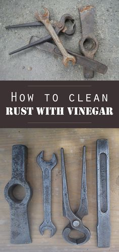 How to clean rust with vinegar - 101CleaningTips.net