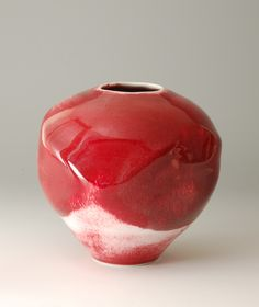 Joanna Howells : Chthonic vessel Pottery Vase, Ceramic Pottery, Ceramic Art, Modern Ceramics, Contemporary Ceramics, Moon Jar, Clay Vase, Art File, Ceramic Design