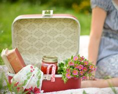 picnic in luggage