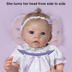 So Truly Real Lifelike Baby Doll: Chloe's Look Of Love by Ashton Drake