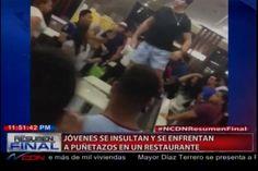 Felix Victorino: Unos Hijos De Papi Y Mami, Se Enfrentan A Puñetazos En Un Restaurante