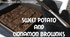 Clean Eat Recipe :: Sweet Potato and Cinnamon Brownies