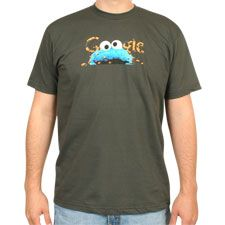 Google Cookie Monster shirt