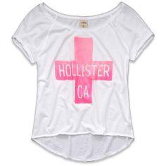 Hollister Co Tourmaline T-Shirt ($7.90) ❤ liked on Polyvore featuring tops, shirts, blusas, hollister, off the shoulder shirts, off shoulder tops, vintage tops, vintage shirt and off-the-shoulder tops