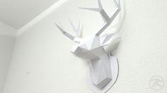 Paper Low Poly Polygonal Deer by Patrick Krämer IMG_6147
