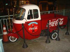 Vespacar South America Coco Cola