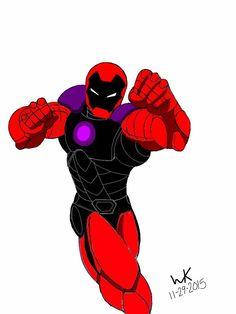iron man/extant (dc comics)