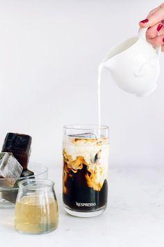 I like my sugar with coffee and cream.