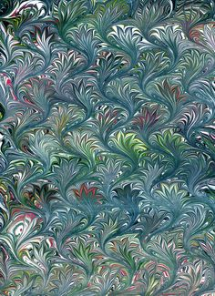 Marbled paper 565