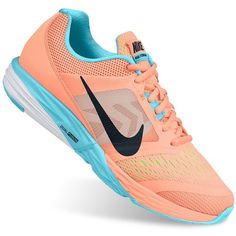 Nike Tri Fusion Run Women's Running Shoes, Size: 5, Sunset Glow Black... ($43) ❤ liked on Polyvore featuring shoes, athletic shoes, sunset glow black blue, blue shoes, black lace up shoes, black shoes, nike shoes and blue athletic shoes