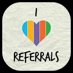 I Love Referral!!!  As a referring party you get FREE Products!  We are the #2 Skin care company in the US and have far exceeded companies like Estee Lauder, Lancome, Elizabeth Arden and other companies that have been in business for many years.  Come join the Rodan + Fields experience and change your skin forever!  Message me today for more information.