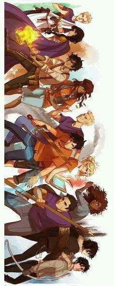 Wow. Heroes of Olympus