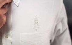 Roger The Barber - Embroidered Shirt