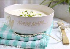 Hjemmelaget hvitløksdressing Finger Foods, Dips, Tea Cups, Pudding, Tableware, Desserts, Chutneys, Mat, Spreads