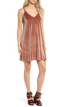 Free shipping and returns on Ten Sixty Sherman Velvet Camisole Dress at Nordstrom.com. A must for fall, this velvet camisole dress looks beautiful styled on its own for a night out or layered over a simple white tee for a more casual daytime look.