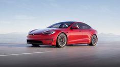 Tesla представила обновлённую версию Model S Us Stock Exchange, New Tesla, Porsche Taycan, Vw Arteon, Thing 1, Mens Gear, Engine Types, A 17, Electric