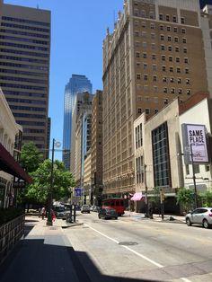 Dallas street shot