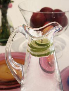 "Vapaus ""Freedom"" pitcher by Mafka. All Mafka glass items are designed and made by Marja Hepo-aho & Glass studio Mafka&Alakoski."
