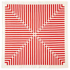 """""""Marion Quilt"""" by Meg Callahan. Hand-stitched cotton fabric."""