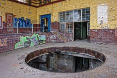 Others, like this former brewery in Leipzig, don't even exist anymore: This...