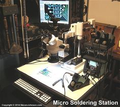 Robotic Welding, Electronic Workbench, Electronic Shop, Repair Shop, Soldering, Projects To Try, Workshop Ideas, Building, Bedroom Ideas