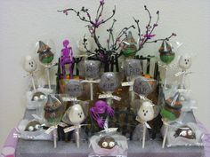Halloween Cake Pop Centerpiece