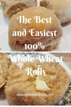 The Best and Easiest Whole Wheat Roll Recipe. These soft and delicious pull apart rolls make great dinner rolls, sandwich rolls, or any occasion rolls. Whole Wheat Rolls Recipe Whole Wheat Rolls Whole Wheat Roll Recipe Whole Wheat Rolls Whole Wheat Rolls Whole Wheat Bun Recipe, 100 Whole Wheat Bread, Whole Wheat Rolls, Wheat Bread Recipe, Sandwich Roll Recipe, Homemade Sandwich, Dinner Rolls Easy, Dinner Rolls Recipe, Donut Recipes