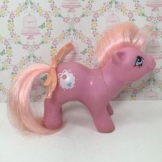 A personal favorite from my Etsy shop https://www.etsy.com/listing/468969801/vintage-g1-mlp-my-little-pony-baby
