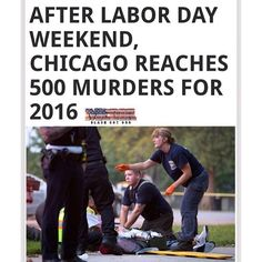 Over the Labor Day Weekend, 13 out of 65 people who were shot in Chicago were killed, logging the city at its 500th death this year, according to Chicago Tribune.  Out of the three holiday weekends this summer, Labor Day Weekend, was the deadliest. During Memorial Day Weekend, 6 out of 69 shootings were shot fatally, and over the Fourth of July weekend, 5 out of 66 shot were fatal.  According to Chicago Tribune, homicides in Chicago have risen to levels that haven't been seen since the…