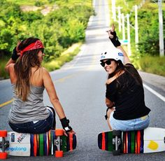 now we shall sit on our boards and look cool👌 Carver Skateboard, Skate And Destroy, Skate Girl, Longboarding, Surf Girls, Skateboards, Look Cool, Snowboard, Surfing