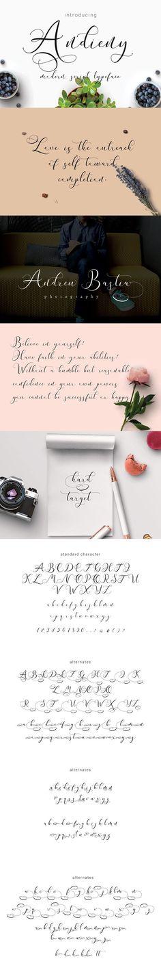 Andieny Script. Best Fonts