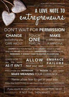 Entrepreneur or Mom-trepreneur!  Motivational quote for you  www.hayleyhobson.com