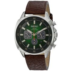 Seiko Recraft SSC513 Solar Chronograph Watch