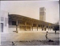 1930 . Mercado Central de pescados. Puerta de Toledo.