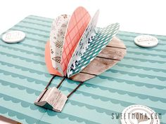 Tutorial - Sweet Möma Blog | Scrapbooking en español, ideas y tutoriales Scrapbook Bebe, Mini Scrapbook Albums, Mini Albums, Pop App, Art Journal Tutorial, Smash Book, Journal Inspiration, Paper Art, Origami