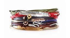 Custom made Apriati 7 Cords Bracelets www.apriati.com Cord Bracelets, Jewels, Cords, My Style, Macrame, Leather, Handmade, Clothes, Fashion