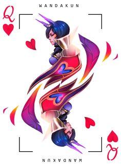 Sweetheart Xayah, Queen of Hearts