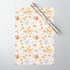 Buy AutumnPattern3 Wrapping Paper by ekkoprintables. Worldwide shipping available at Society6.com. Just one of millions of high quality products available.  #autumnwrappingpaper #wrappingpaper #Halloween #halloweenwrappingpaper #thanksgivingwrappingpaper #thanksgiving #cutewrappingpaper #woodlandwrappingpaper Rapping Paper, Double Stick Tape, Wraps, Thanksgiving, Gift Wrapping, Halloween, Products, Gift Wrapping Paper, Thanksgiving Tree