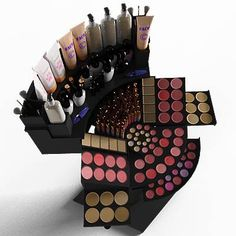 what a great makeup display stand