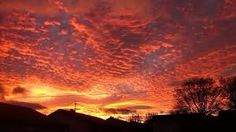 the view of the sun rises after hurricane lorenzo that occurred in england High Clouds, Large Waves, Storm Surge, Northern England, Natural Phenomena, Autumn Trees, Beautiful Moments, Sunrise, Sky