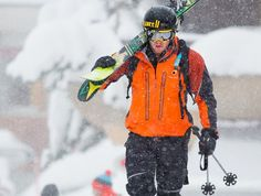 Nick Valentine - Innovative skier and  fast alpine activist