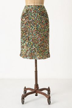Sparkles and sequins.... pencil skirts... what's not to like?